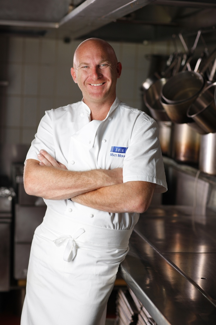 Matt Moran - well-known Australian chef, restauranteur and co-owner of a number of successful restaurants.