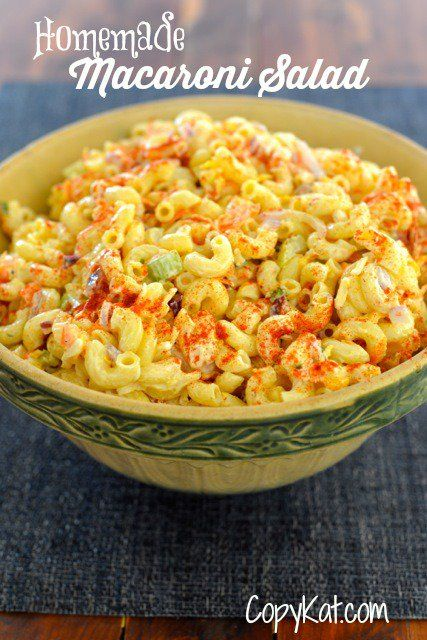 You can prepare this homemade macaroni salad from scratch, its so easy to make. Homemade macaroni salad tastes so much better than store brought.
