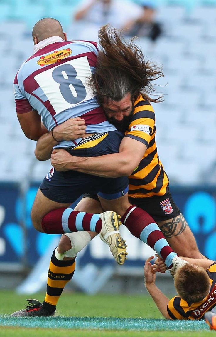 Chabal smash! Come here. Don't be afraid. I just want to give you a hug!