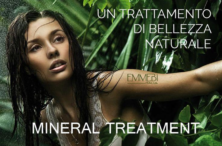 Mineral Treatment: La linea naturale per la bellezza dei tuoi capelli. #Emmebiitalia035