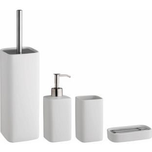 Buy Habitat Starter White Bathroom Accessories Set at Argos.co.uk - Your Online Shop for Bathroom sets and fittings.