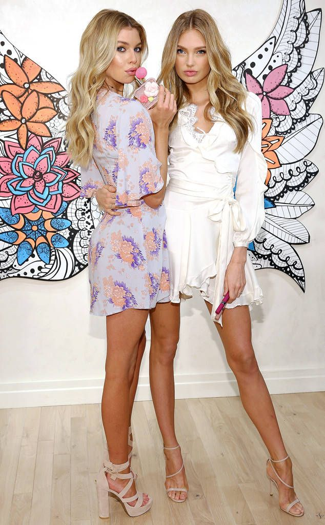 Romee Strijd & Stella Maxwell from The Big Picture: Today's Hot Photos  Seeing angels! TheVictoria's Secret models help launch The New Dream Angels Collection at Victoria's Secret in New York City.