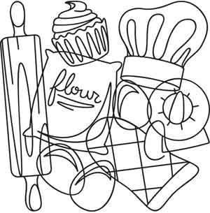 Baking Collage | Urban Threads: Unique and Awesome Embroidery Designs.... I think I have found my new favorite site!!!! so want to make all of these embroidery!