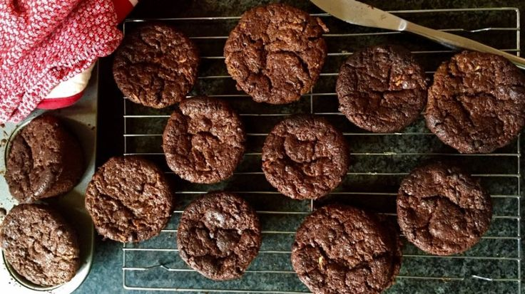 Carrot and zucchini chocolate muffins recipe