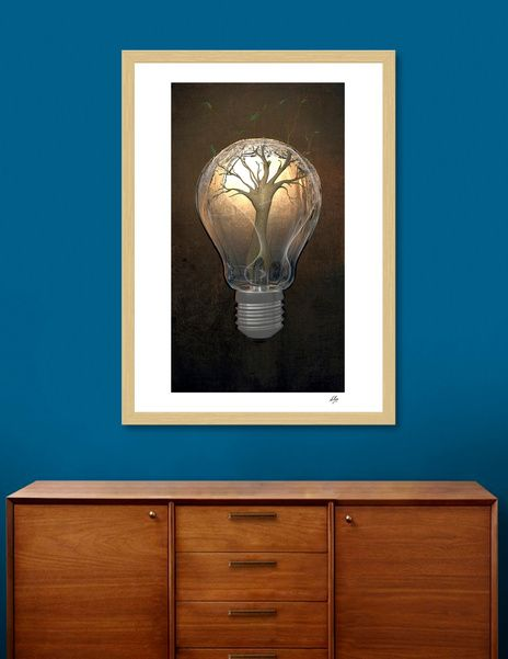 Discover «Creativity», Exclusive Edition Fine Art Print by Elisa Ranalli - From 23€ - Curioos