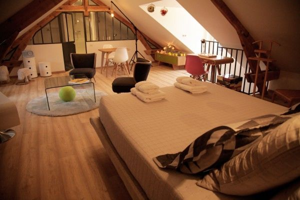 Chez Ric et Fer Luxury Bed and Breakfast Located in Northern France - Picardie - Aisne. The Suite