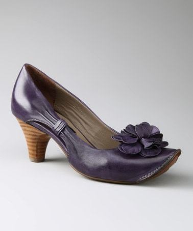 Take a look at this Everybody Shoes Amethyst Sortino Pump by Fall for Fashion: Women's Footwear on #zulily today!