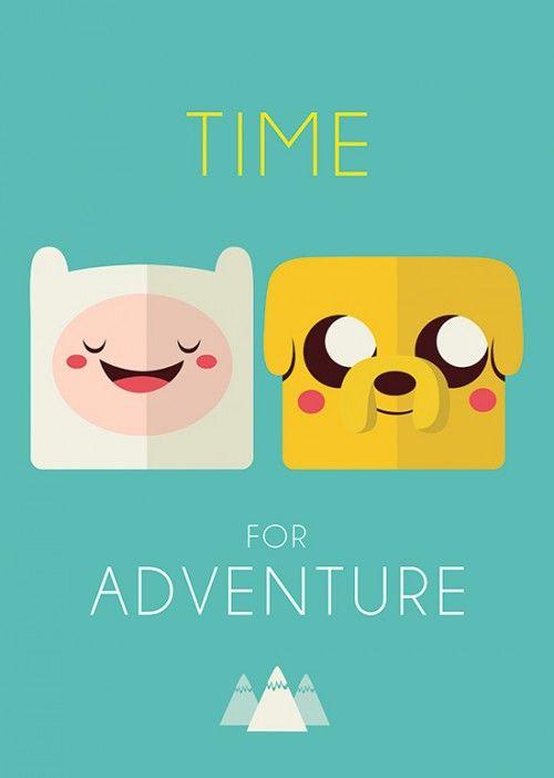 Poster A Hora da Aventura
