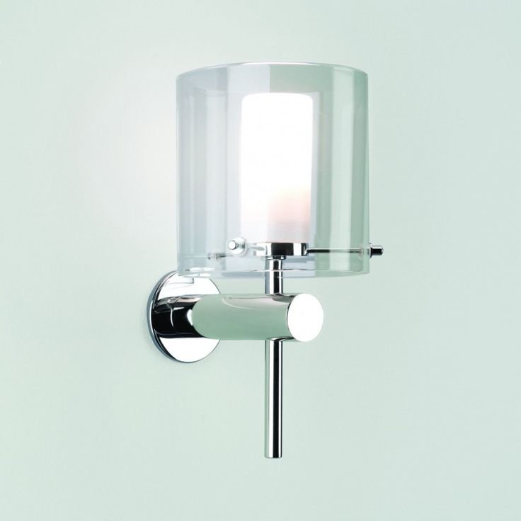 Astro 0342 Arezzo IP44 Bathroom Wall Light In Chrome