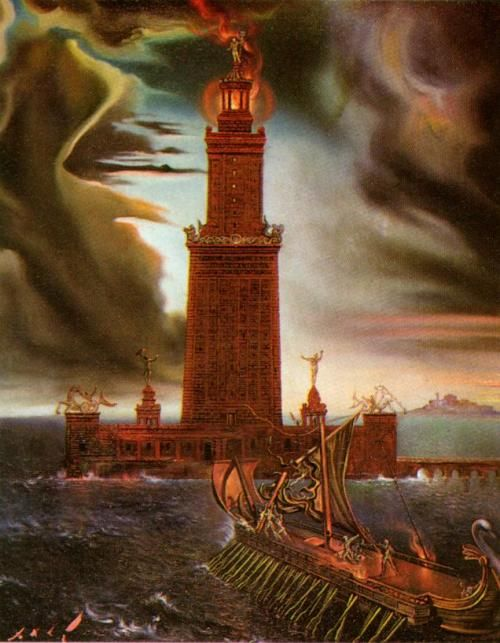 Salvador Dali Lighthouse At Alexandria 1954 Mayak Salvador
