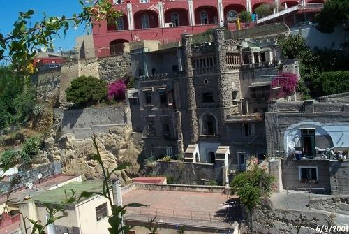 Castle at Rampe Pizzo Falcone
