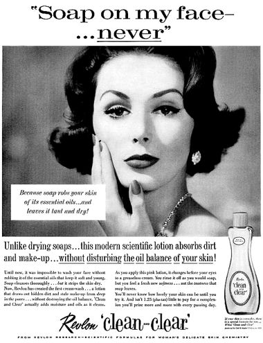 1959 Revlon Clean-Clear   – Vintage Cosmetics and Beauty