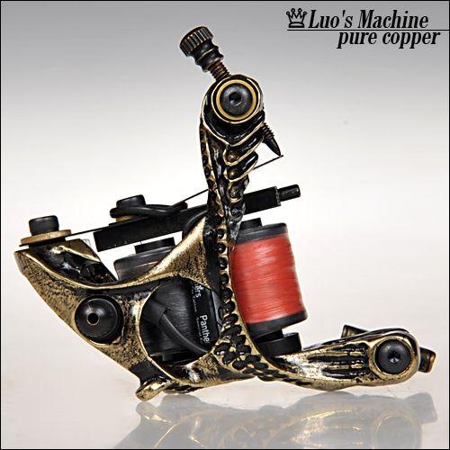 Custom Luo's Machine Pure Copper Tattoo Machine Gun Set LH16 Custom Luo's Machine Pure Copper Tattoo Machine Gun Set LH16 [LH16] - US$20.00 : Dragonhawk tattoo supplies, tattoo kits,tattoo machines for sale global form tattoodiy.com