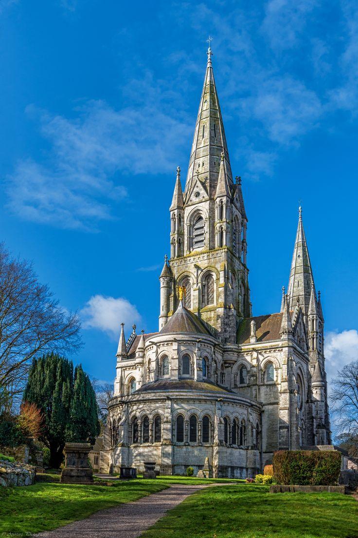 St Finbar Cathedral, Cork City, Ireland.