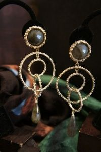 Daniela de Marchi Labradorite Earrings(イヤリング)