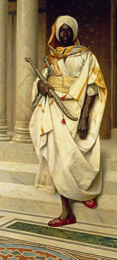Ludwig Deutsch: The Emir ~Repinned Via Lenide Pierre-Antoine