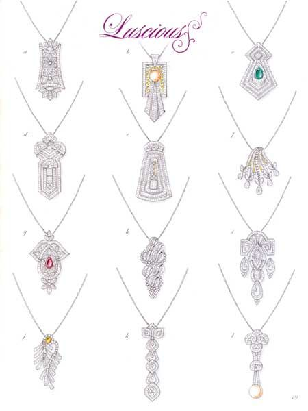 LUSCIOUS JEWELS EXCLUSIVE DESIGNED BY SAMIR HATI