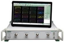 Features  •Ideal for testing passive multiport and differential devices including signal testing on PCBs  •Fast sweep speed and wide dynamic range minimize test times and maximize throughput  •Excellent corrected directivity allows for less measurement uncertainty  •Time domain with time gating option grants easier and faster fault identification  •The LAN interface for remote control is more robust than USB and faster than GPIB  •A common GUI and SCPI interface within the ShockLine™ family