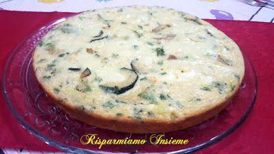 Risparmiamo Insieme - Let's save together: Frittata al forno con Patate, Zucchine ed Emmental