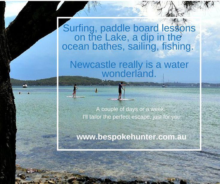 The perfect Summer escape. #nsw #newcastle #lakemacquarie #waterwonderland #beaches #lakeside #surf #fish #sail #sun