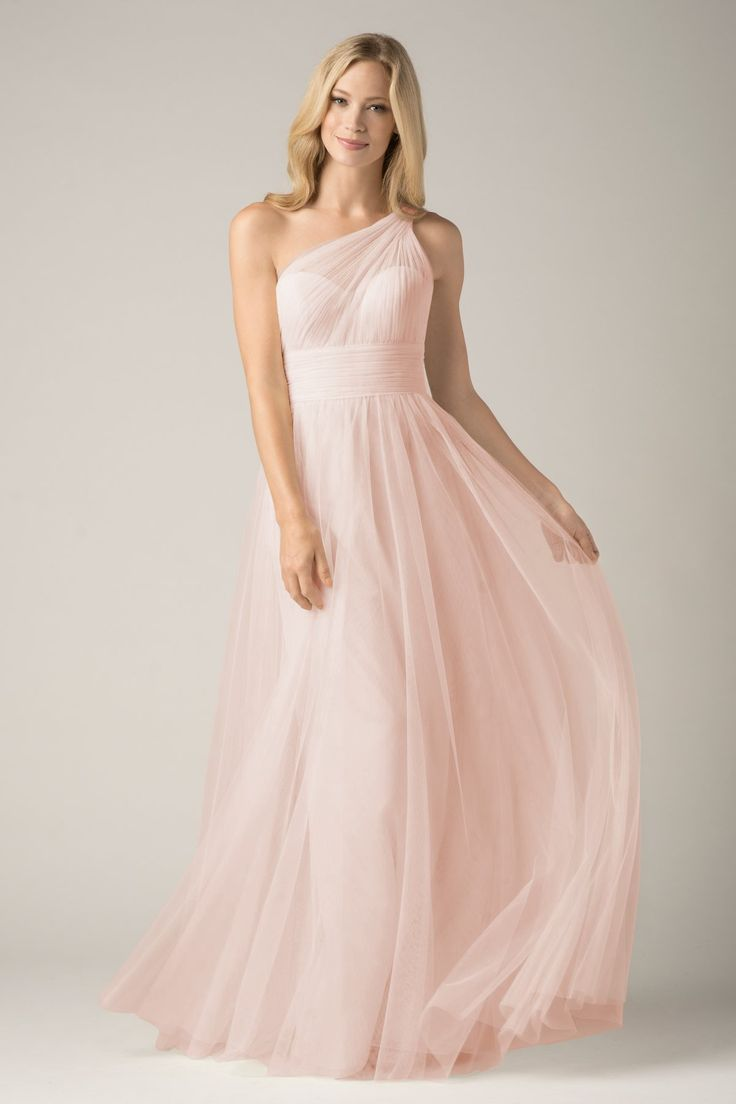 Blush Bridesmaid Dress // WTOO Maids Dress 858i