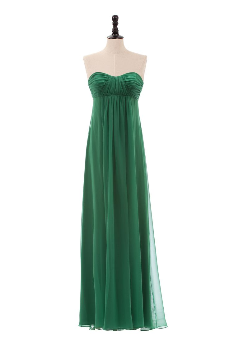Sweetheart Chiffon Dress with Empire Waist, bridesmaid dresses? different color tho