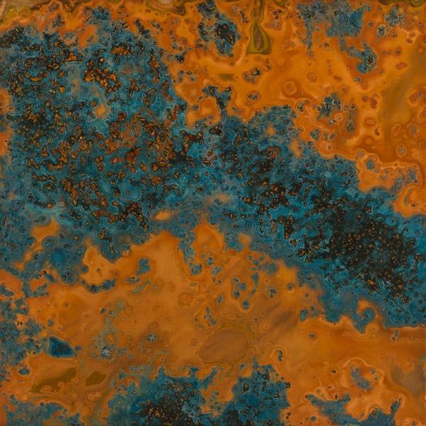 azul patina copper sheet light 36 gauge what a great backsplash this