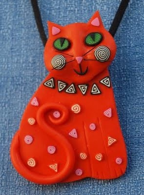 polymer clay ~ by Anita Brandon of Melody O Designs http://www.artfire.com/ext/shop/studio/MelodyODesigns