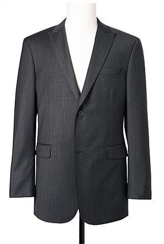 Classic Birdseye Textured Jacket #formalwear #wooljackets