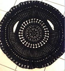 Crochet circle jacket - medium but made with an F hook so could easily be made larger $5.00