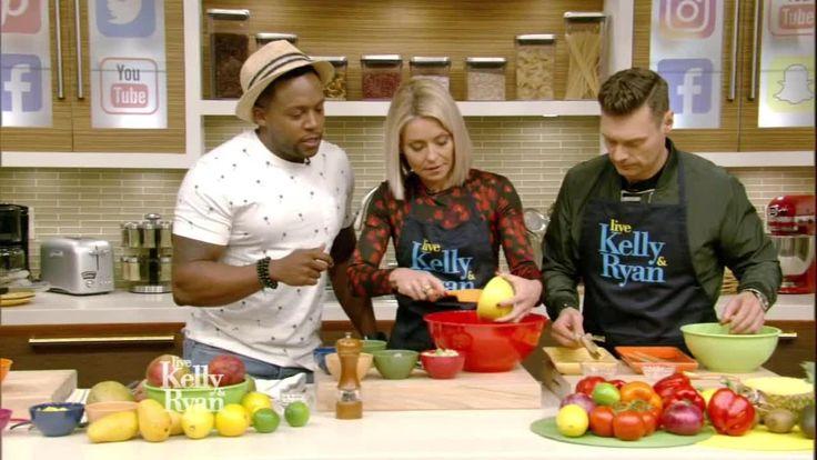 Fit Men Cook's Kevin Curry Avocado & Grilled Shrimp Salad