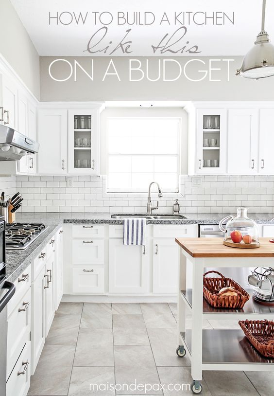 #Kitchenremodels do not have to cost a fortune. Here are some budgeting tips to help you save! http://maisondepax.porch.com/2015/06/budgeting-tips-for-a-kitchen-renovation.html