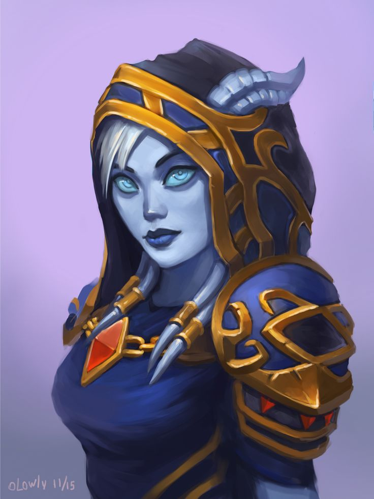 Illustration de Irina Vostrikova | RPG Character Portrait