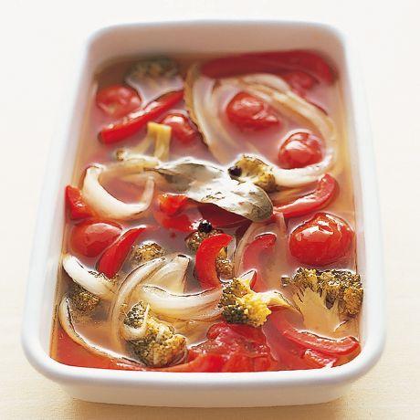 南欧風ピクルス | 丸山久美さんの漬けものの料理レシピ | プロの簡単料理レシピはレタスクラブネット