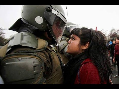 Wonderful put together video, with song...a must watch...Trevor Hall - Standing Rock ...and yes this photo is one of our youth, standing strong and proud, and knows what is right.