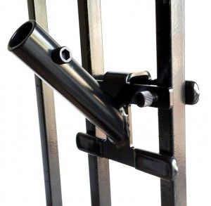 New Flag Pole Mount By Fence Hangers W Picketgrip
