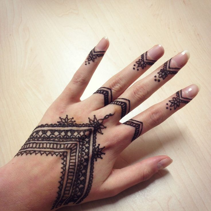 Black Henna Tattoo Tumblr: Henna Tattoo