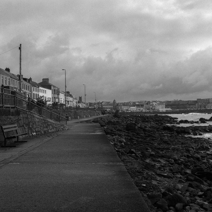 Portstewart Promenade, County Londonderry, Northern Ireland