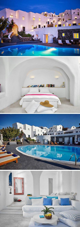 In Finikia Memories op Santorini kijk je je ogen uit. Het prachtige hotel is gebouwd in Cycladische stijl: witte huisjes en blauwe deuren. Griekser kan haast niet! Een zwembad, jacuzzi en gratis WiFi zijn enkele faciliteiten waar je gebruik van kunt maken. Geniet van de prachtige omgeving en het sfeervolle hotel!