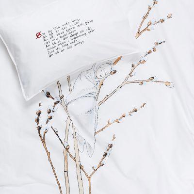 Påslakanset - Videung - Elsa Beskow, 100x130 cm, 38x55 cm, - Heminredning - Hemtextil - Hemtex
