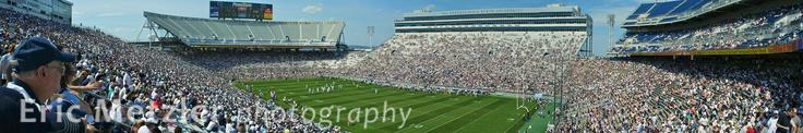 Blue & White Game, Pennsylvania State University, Penn St, PSU
