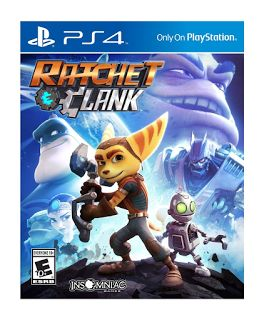 RATCHET and CLANK Ratchet and Clank have returned, after great success with PS2, now you have an even more enjoyable version to play on PS4. This fun game takes Ratchet and his friend Clank to multiple planets on an adventure Most of the game is spent battling through a large amount of enemies on a …