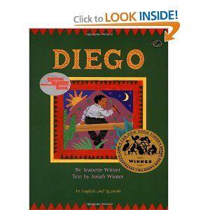 Children's book about Diego Rivera.