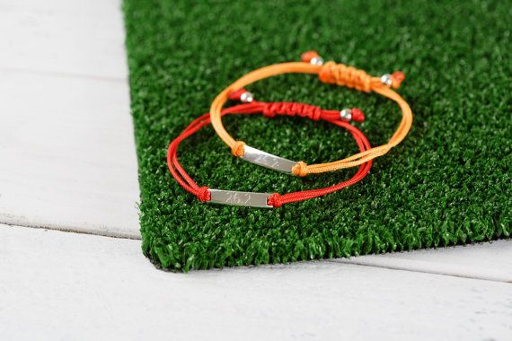 Marathon run bracelet, running gift, marathon gift for runners, sporty gift, sporty bracelet, marathon jewellery, running jewellery