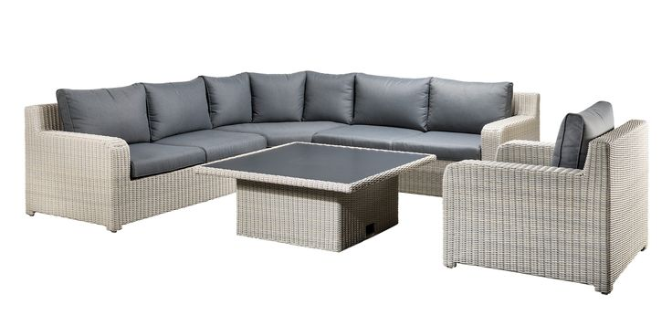SUNS Portella - Lounge set - SUNS Blue Collection - 5 parts - Big Corner