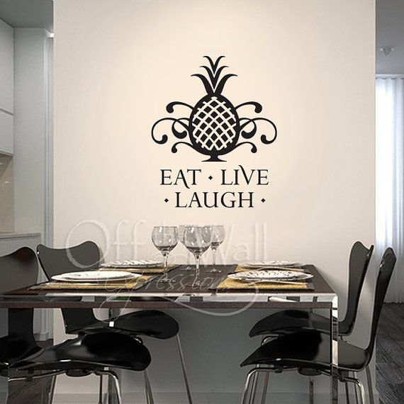 Should Write EAT LOVE LAUGH In My Dining Room Vinyl Wall ArtRoom