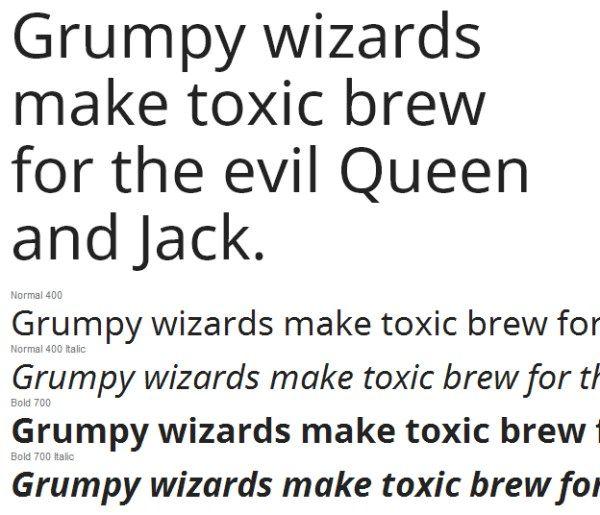 Noto Sans Google fonts