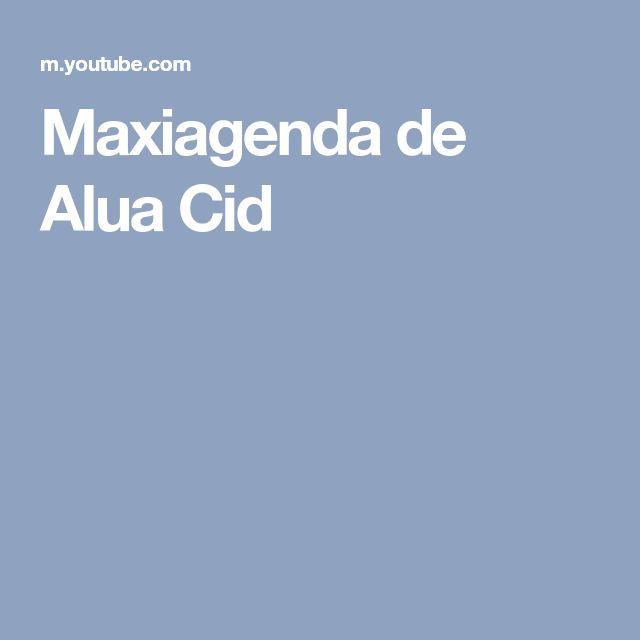 Maxiagenda de Alua Cid