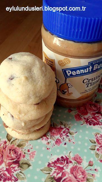 Çikolata Parçalı Kurabiye (Chocolate Cips Cookie) | eylulundusleri.blogspot.com.tr/ Keçelikalem