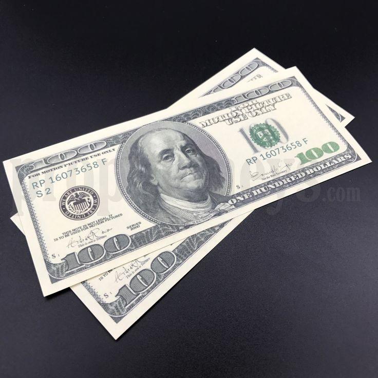 2x $100 Dollar Bills – $200 – 2000s Style Prop Mon…